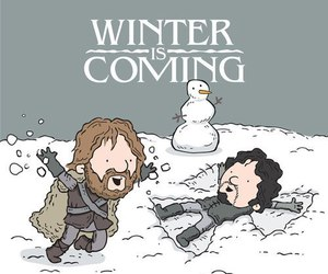 game of thrones, winter is coming, and got image
