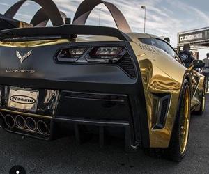 black, Corvette, and fierce image