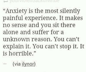 anxiety, horrible, and panic attacks image