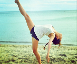 beach, ballet, and dance image