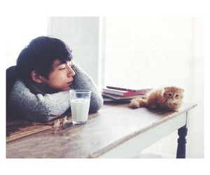 cat and 坂口健太郎 image