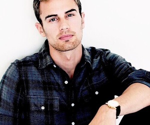theo james, four, and divergent image