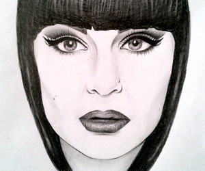 art, drawing, and jessie j image