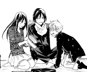manga, noragami, and anime image
