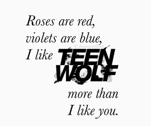 teen wolf and quotes image