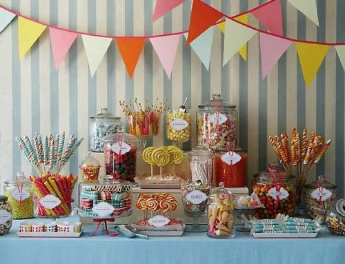 buffet, candy, and dessert image