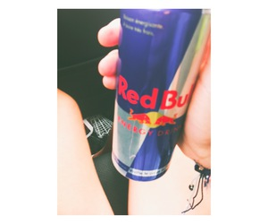 dark, redbull, and energy image