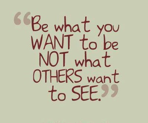 quote, be yourself, and you image
