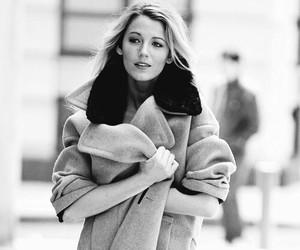 blake lively, style, and coat image