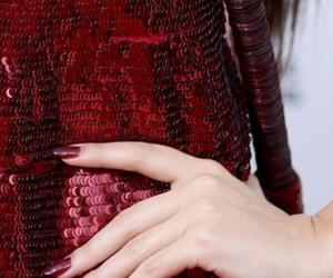 ama, nails, and dress image