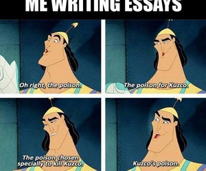 funny, disney, and essay image