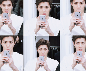 sehun, exo, and instagram image