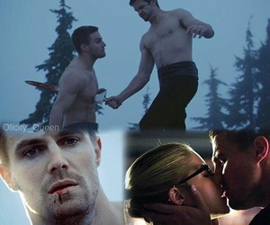 arrow, oliver, and oliverqueen image