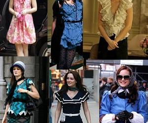 fashion, blair waldorf, and gossip girl image
