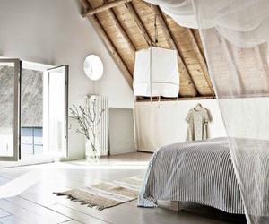 bedroom, dark, and lights image