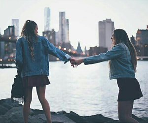 friends, best friends, and city image