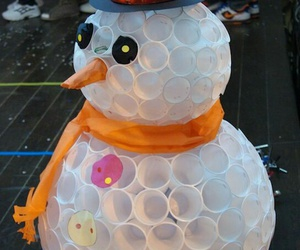christmas, ideas, and snowman image