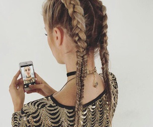 accessories, hair, and braids image