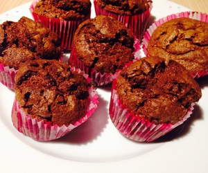 chocolat, muffin, and patisserie image