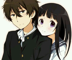 anime, kawaii, and hyouka image