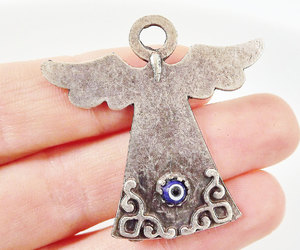 angel, artisan, and pendant image