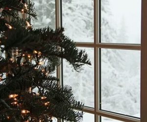 aesthetic, snow, and christmas image