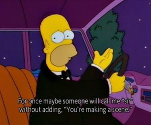 the simpsons, funny, and quotes image