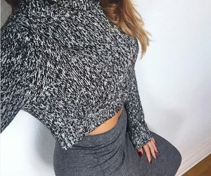 classy, fashion, and sweater image