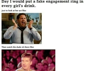 funny, lol, and ring image