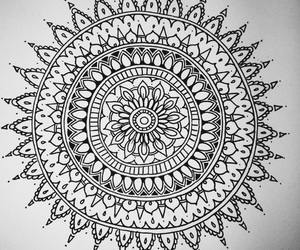 beautiful, black and white, and drawing image