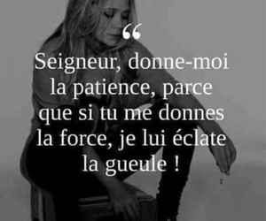 citation, french, and patience image