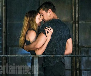 divergent, theo james, and beatrice image
