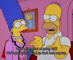 the simpsons, funny, and simpsons image