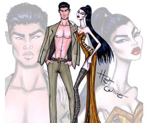 hayden williams, art, and couple image