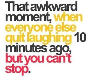 funny, awkward, and quotes image