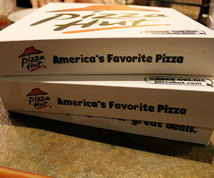 food, photography, and pizza hut image