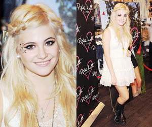blond and pixie lott image
