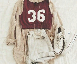 clothes, converse, and stylish image