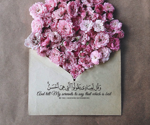 design, flowers, and islamic image