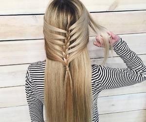 braid, hairstyles, and haïr image