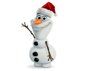 olaf, frozen, and christmas image