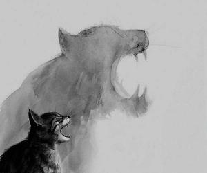 fuerza, libertad, and gato image
