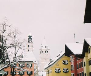 austria, winter, and snow image