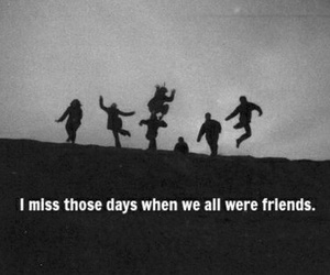 friends, quotes, and sad image