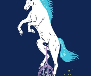 unicorn and unicycle image