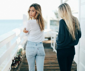 apparel, alexis ren, and models image