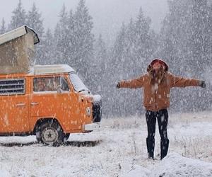 snow, travel, and adventure image