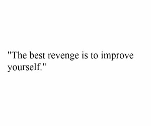 quote, revenge, and improve image