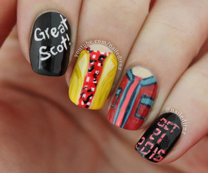 Back to the Future, marty, and nails image