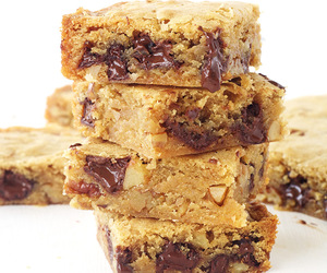 blondies, chocolate, and desserts image